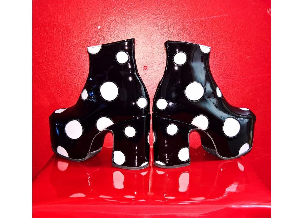 Circus Shoes - Polkadot Boots