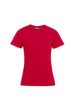 Women's Red Premium T-Shirt Sizes XL-3XL