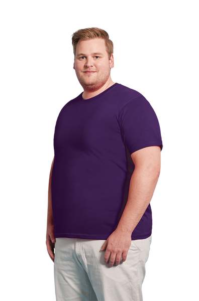 Men's Organic T-shirt in Purple