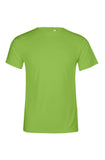 Men's Bright Green Performance T-Shirt Sizes XL to 5XL