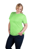 Women's Bright Green Performance T-Shirt