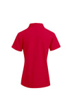 Women's Red Superior Polo Shirt