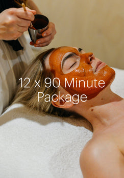 12x 90 Minute Living Skin facial MONTHLY Value pack