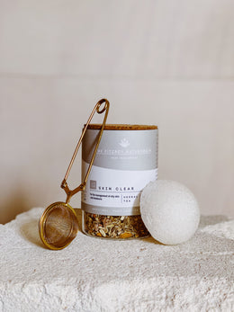 The Fitzroy Naturopath Custom Tea & Kuu Konjac Sponge