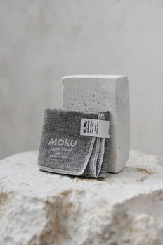 Moku Face Washer Tan