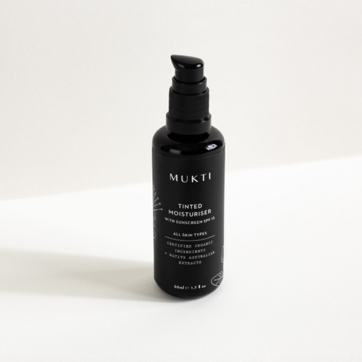 Mukti Tinted Moisturiser with Spf