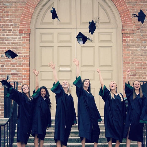 William and Mary Lacrosse Team Graduation
