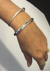 Comparison of bracelets on wrist