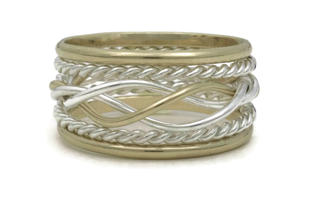 Celtic 5 Ring Stack