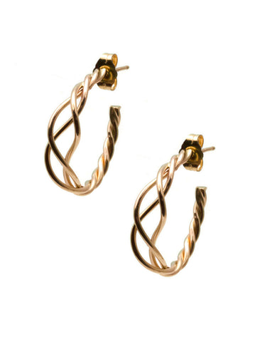 Celtic Hoop Earrings E34