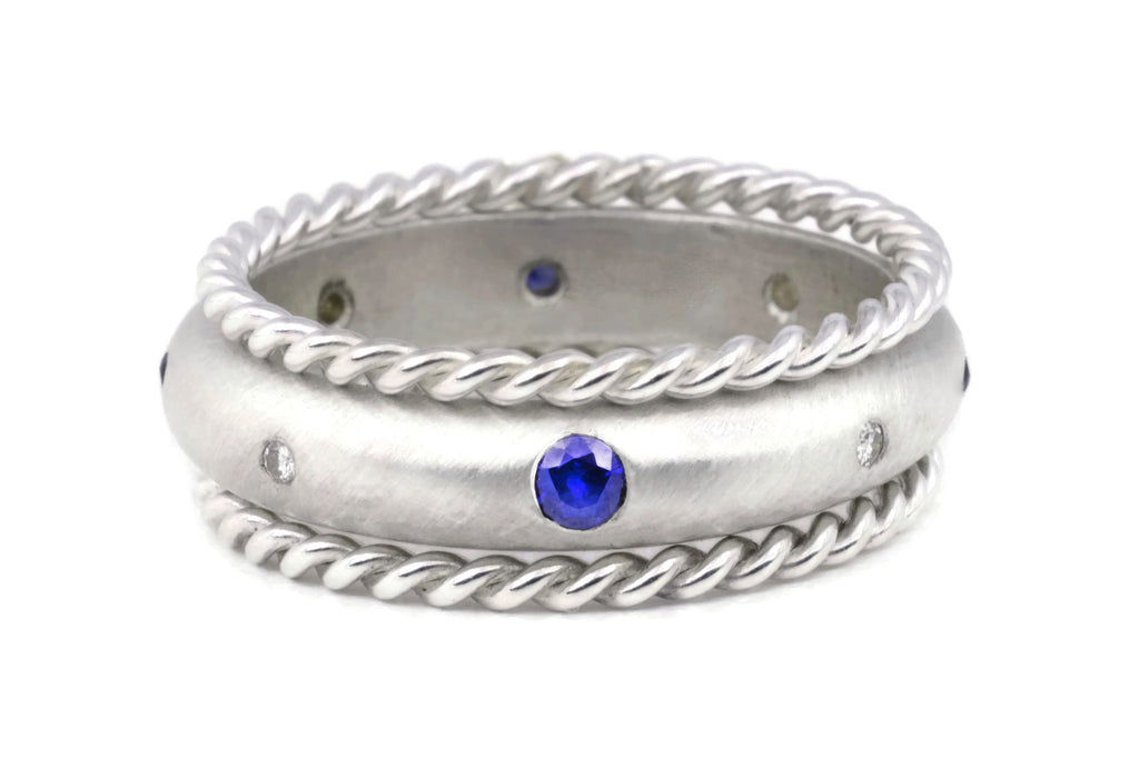 Compass Ring (Sapphire) Rope Set