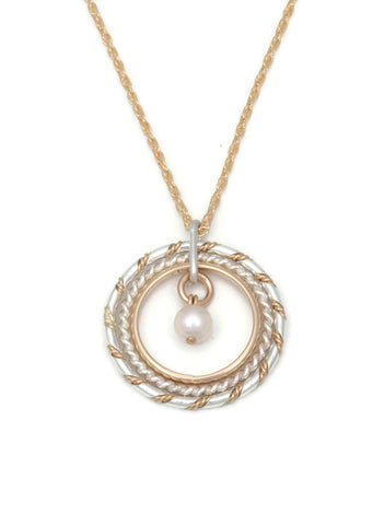 Fra Angelico Necklace - White Pearl