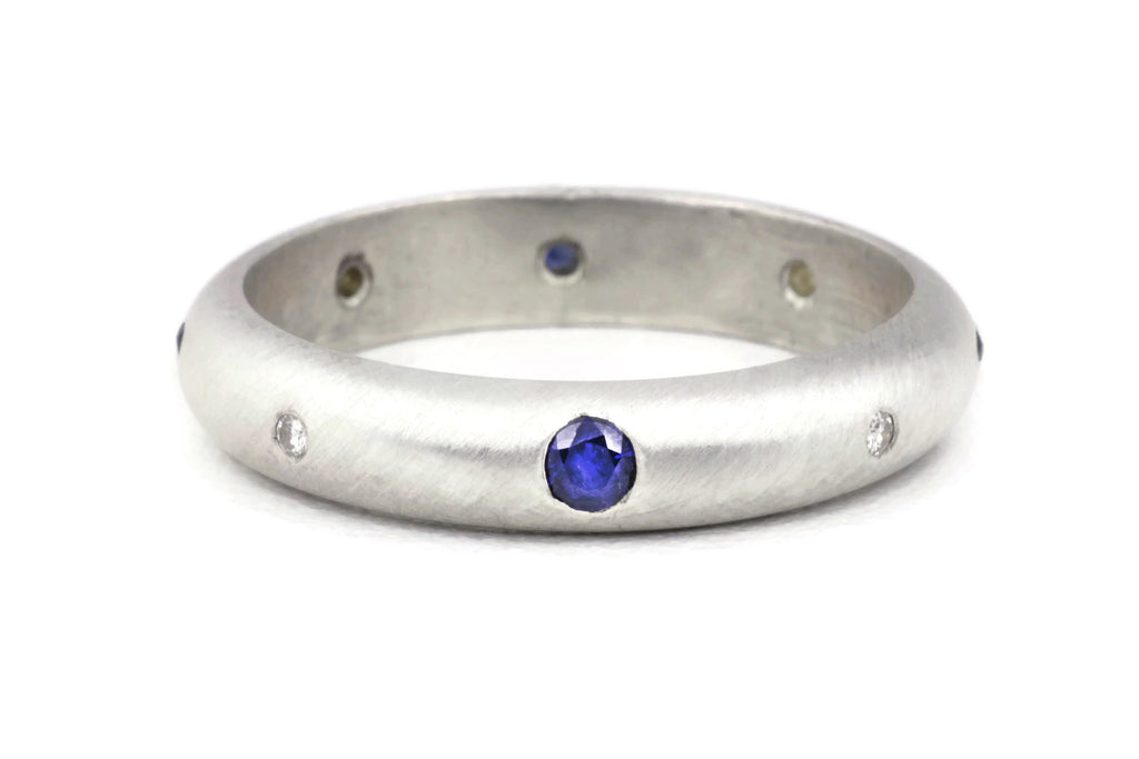 Compass Ring (Sapphire)
