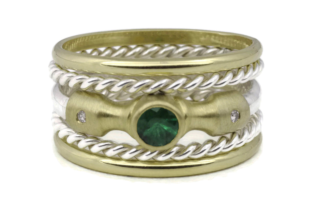 Hammer Ring (Emerald) Classic TS Stack