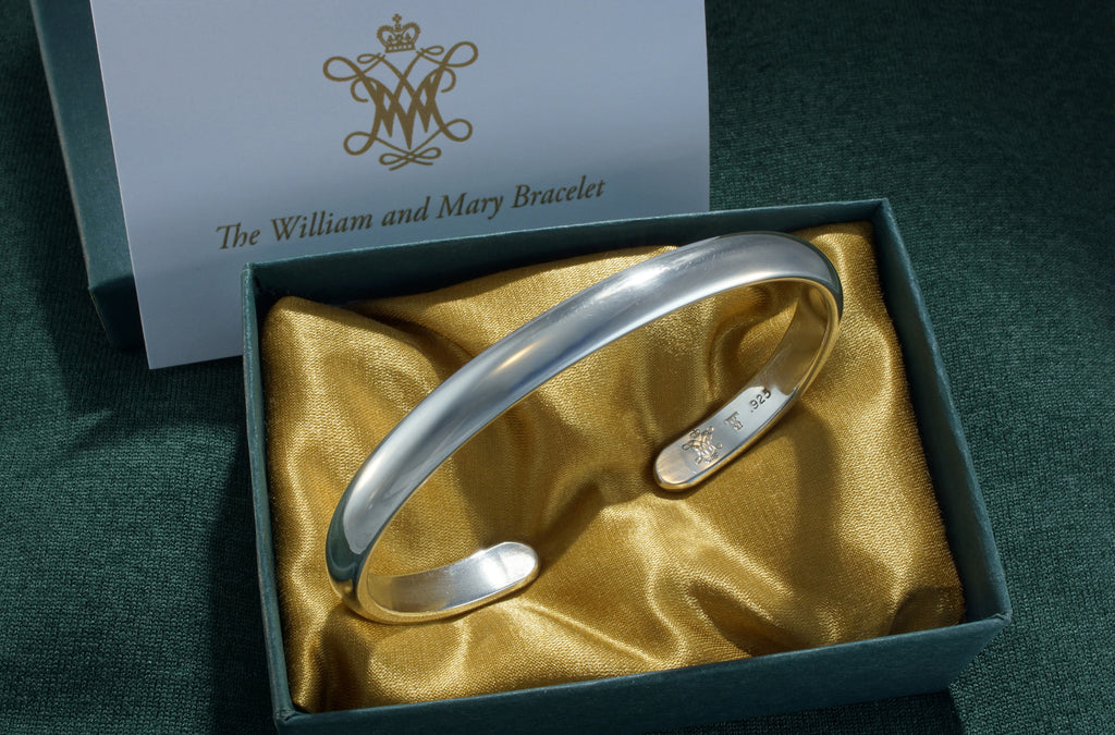 William & Mary Bracelet - Recycled Silver