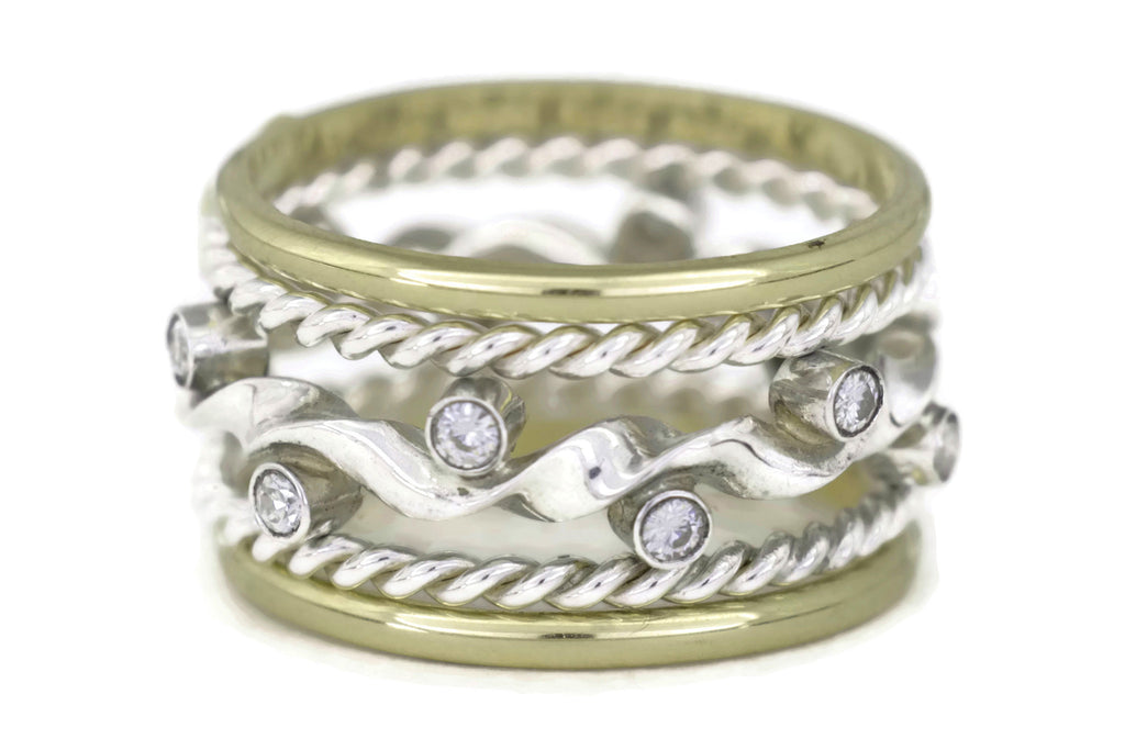 Kelp Forest Ring TS Classic Stack
