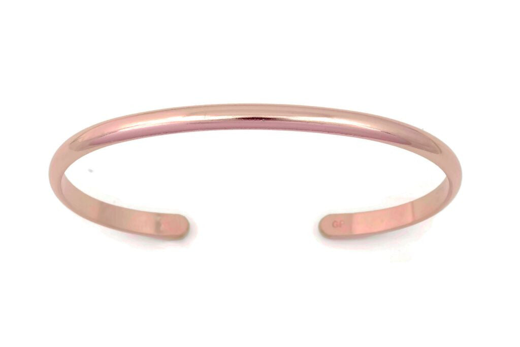 Plain Rose Gold Bracelet - BM2r