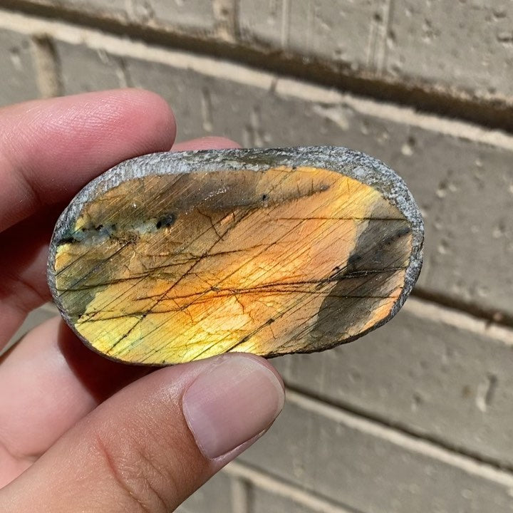Labradorite Seer Stone from Madagascar with Video