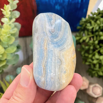 Blue Scheelite Pocket Stone from Turkey