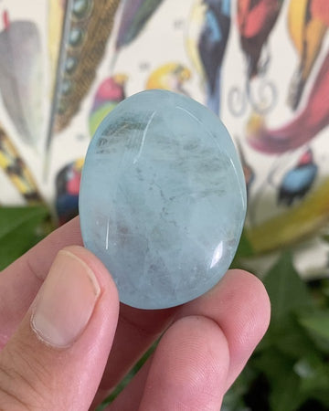 Aquamarine Tumbled Stone from Brazil
