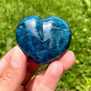Apatite Heart from Madagascar