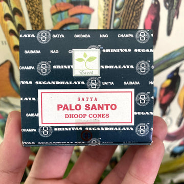 Palo Santo Incense Cones by Satya