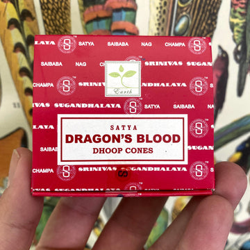 Dragon's Blood Incense Cones by Satya