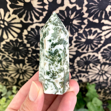 Tree Agate Tower from India