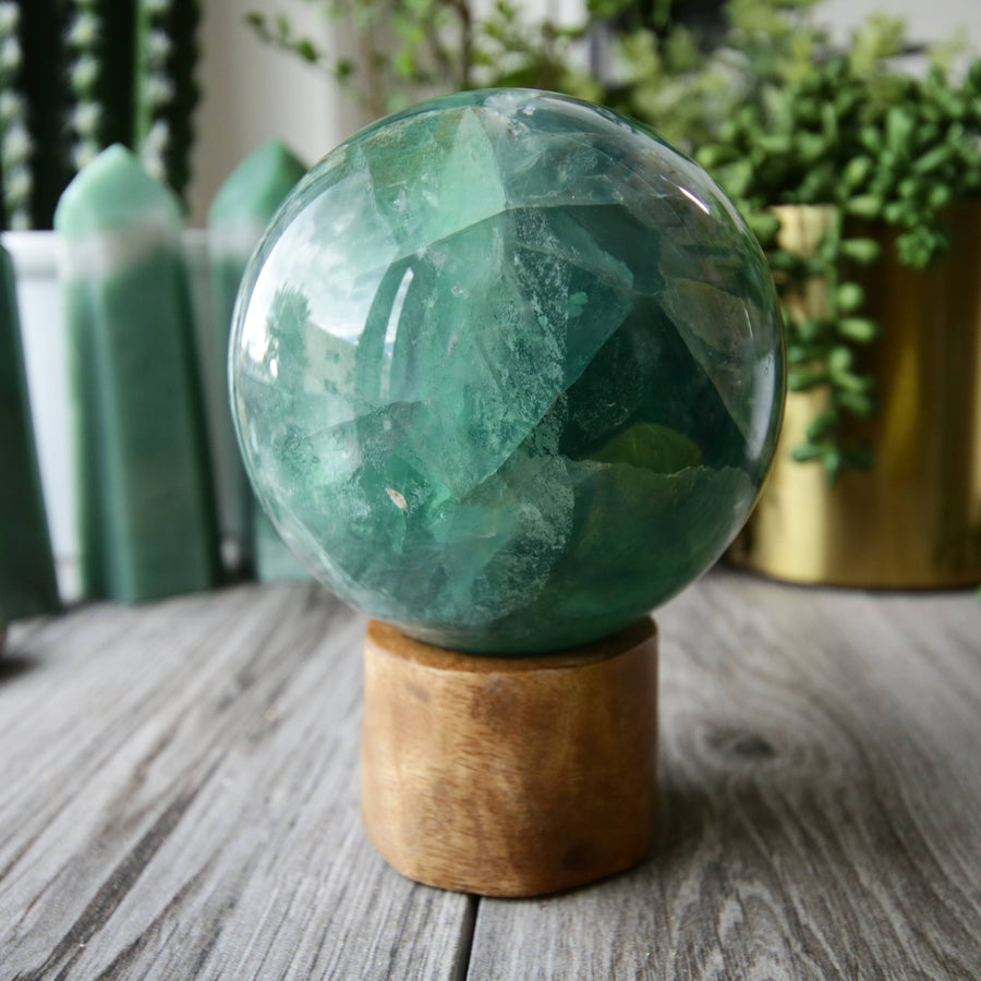 Fluorite Sphere from China