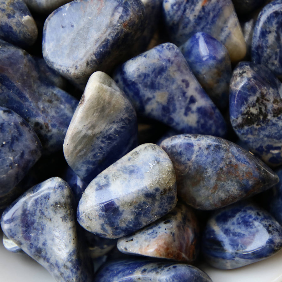 Sodalite Tumbled Crystals from South Africa