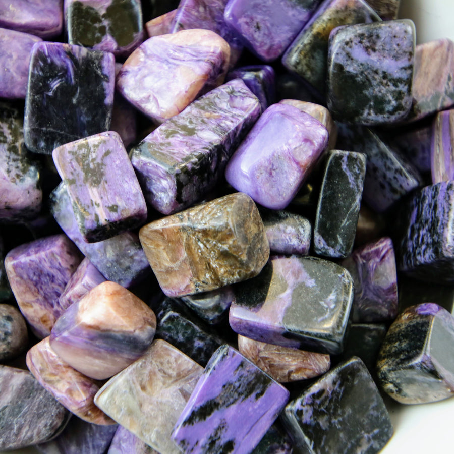 Chaorite Tumbled Stones from Russia