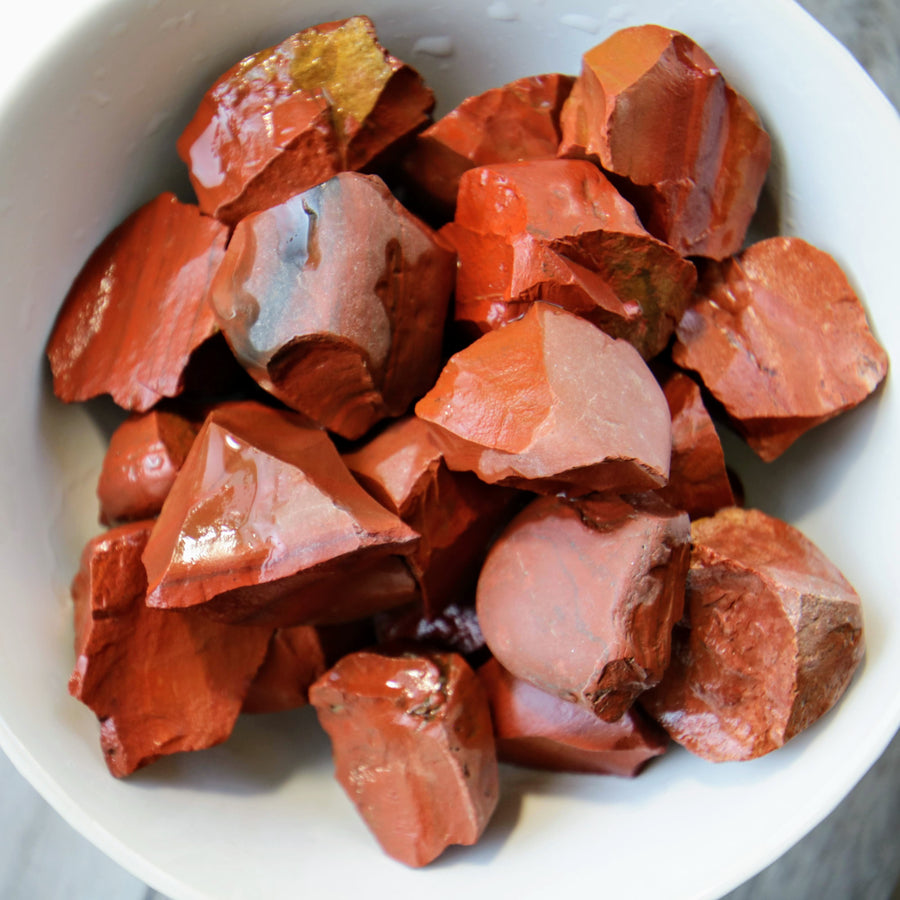 Red Jasper Natural Chunks from India