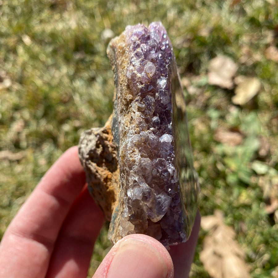 Amethyst Stalactite Formation from Uruguay