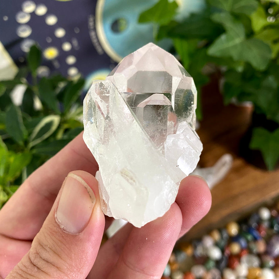Clear Quartz Cluster from Brazil