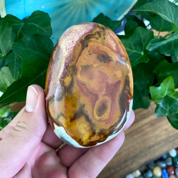 Polychrome Jasper Pocket Stone from Madagascar
