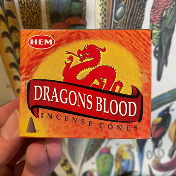 Dragon's Blood Incense by HEM