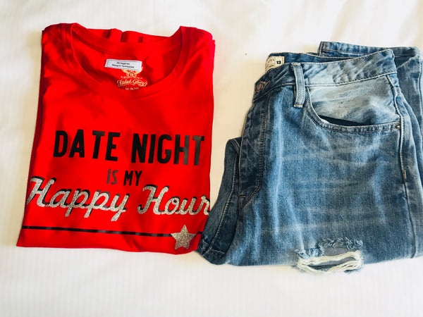 Date Night Happy Hour Tee