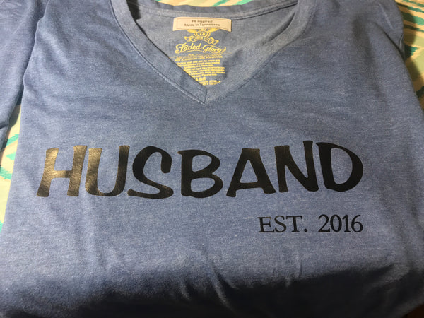 Husband established tee