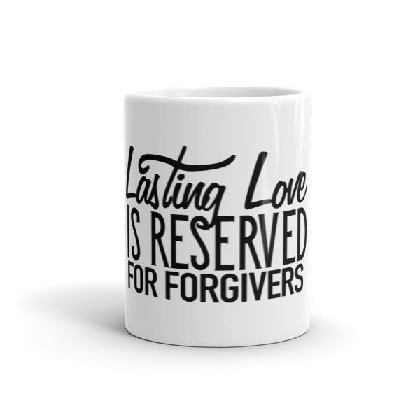 Lasting Love coffee cup