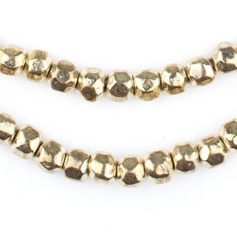 Rounded Gold Nugget Beads (6mm) - The Bead Chest