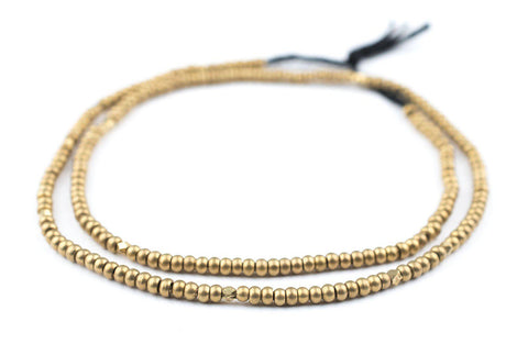 Brass Seed Beads (3mm) - The Bead Chest
