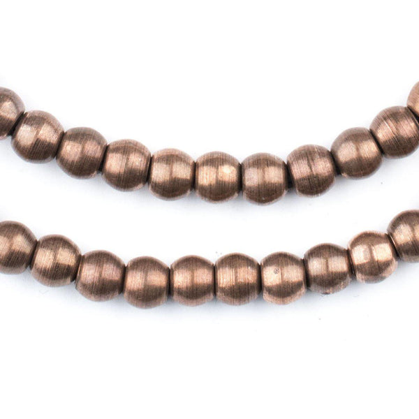 Antiqued Copper Sphere Beads (6mm) - The Bead Chest