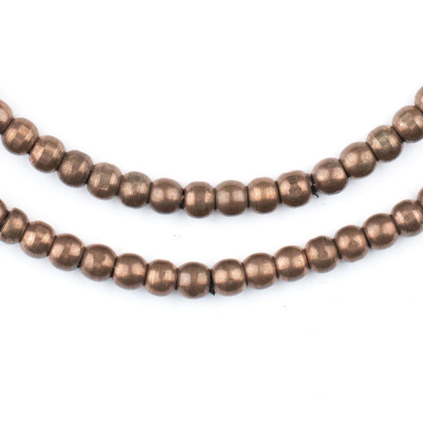 Antiqued Copper Sphere Beads (4mm) - The Bead Chest