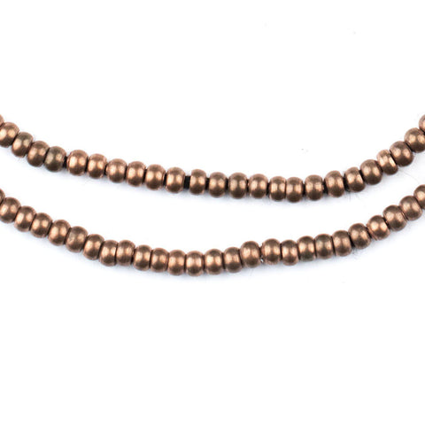 Antiqued Copper Seed Beads (3mm) - The Bead Chest