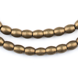 6dc798c49 Oval African Brass Beads - Shop for Metal Beads at The Bead Chest