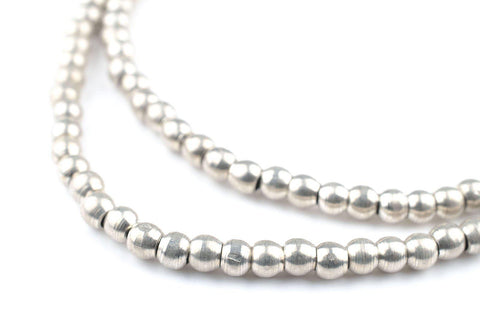 Silver Sphere Beads (4mm) - The Bead Chest