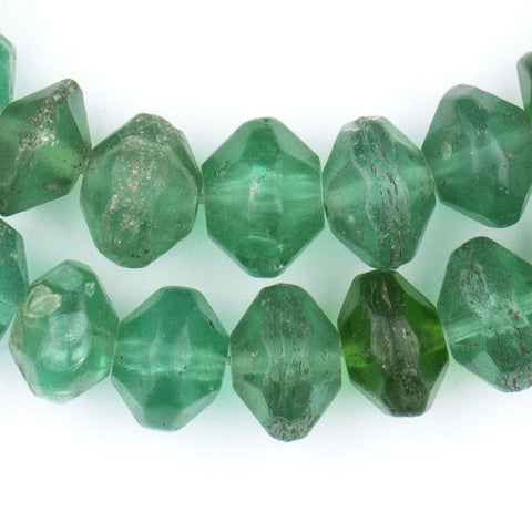 Green Vaseline Beads - The Bead Chest