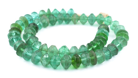 Image of Green Vaseline Beads - The Bead Chest