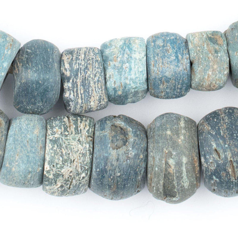 Antique Turquoise Hebron Kano Beads (Natural) - The Bead Chest
