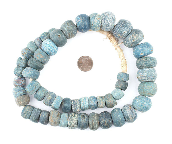 Antique Turquoise Hebron Kano Beads (Natural)
